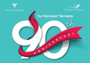 2018, el año del 90 aniversario de FilterQueen Majestic 90th